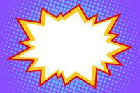 comic white explosion