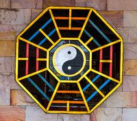 Balance Yin Yang Concept frame