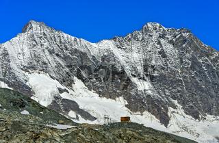 Blick zum Bergpass Egginerjoch
