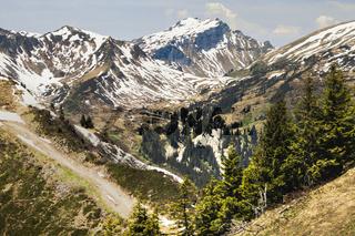 Walmendingerhorn, Vorarlberg, Österreich, Mai