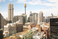Sydney CBD During The Day