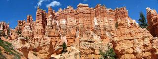 Panorama of hoodoos, Bryce Canyon