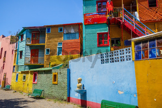 Colorful houses in Caminito, Buenos Aires