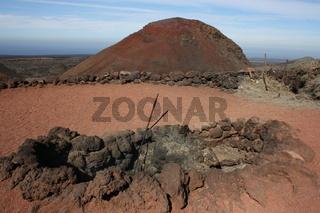 Lanzarote, Timanfaya Vulkan