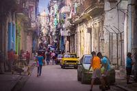 Streetscene in Havana, Cuba