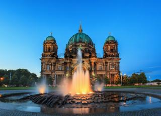 Berlin Cathedral or Berlin Dom, Berlin, Germany