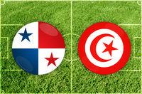 Panama vs Tunis football match