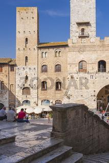 Wohntürme von San Gimignano, Toskana, Italien
