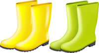 Rainboots Set