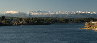Olympic Mountains Puget Sound Bremerton Washington