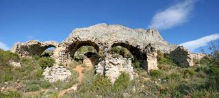 Bernia Fort. Spain
