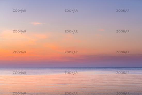 Warm sunset overlay
