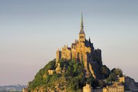 Mont-Saint-Michel in der Normandie - Mont Saint Michel Abbey in Normandy, France