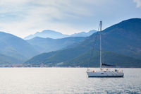 The Kotor Bay in Montenegro