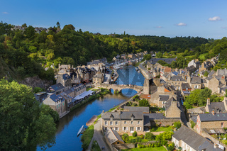 Village Dinan in Brittany - France