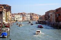 Blick auf Canal grande,  Venedig