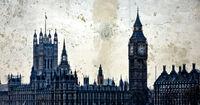 London. Houses of Parliament. Big Ben.