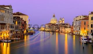 Calm night in Venice