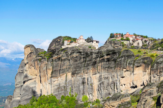 The Great Meteoron and Varlaam Monastery in Meteora, Greece
