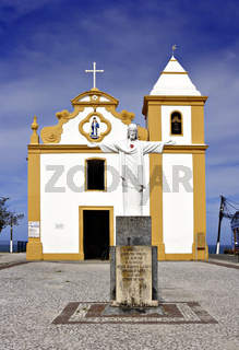 Kirche Nossa Senhora d´Ajuda, Arraial  d´Ajuda, Porto Seguro, Bahia, Brasilien, Südamerika