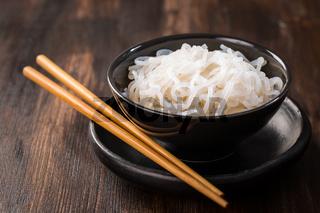 Shirataki noodles (Konjac) - japanese food