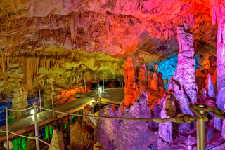 Sfendoni cave on Crete, Greece