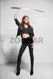 Seductive young woman