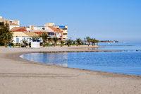 Los Alcazares beach. Spain