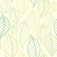 Leafy seamless background 7