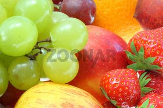 Früchte.