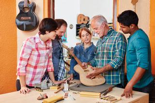 Junge Handwerker in der Ausbildung