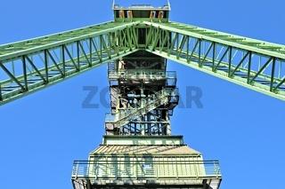 Förderturm Zeche Westfalen Ahlen Deutschland