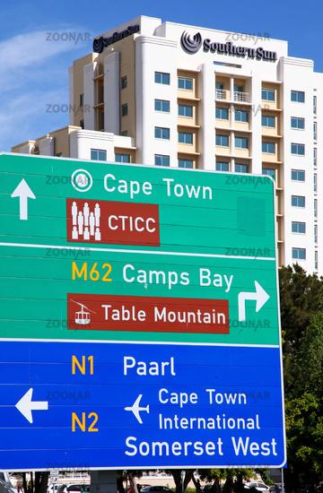 Hotel Southern Sun in Kapstadt, Südafrika, Hotel Southern Sun, Cape Town, South Africa