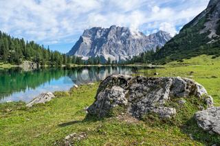 Seebensee und Zugspitze