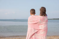 Kids Back Sea Lake Ocean