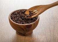 Fine coffee beans