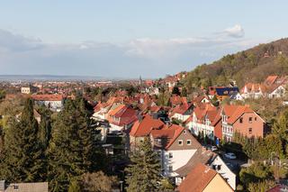 Stadtbild mit Häusern in Wernigerode