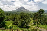 Vulkan Arenal in Costa Rica