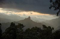 Roque Bentayga Monolith in Gran Canaria