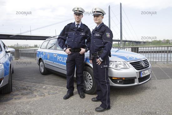 Australische Polizeiuniform