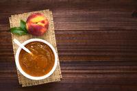 Peach Jam or Jelly