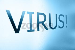 Virus Alert Sign