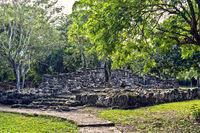 Mayan Ruins in San Gervasio