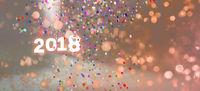 karte grußkarte neujahr 2018 textfreiraum