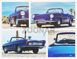 Collage of Renault Caravelle