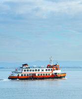 Lisbon Almada ferry boat, Portugal