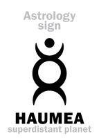 Astrology: planet HAUMEA