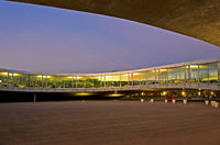 Abends am Rolex Learning Center