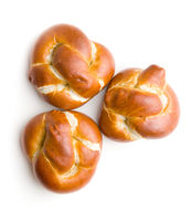 Tasty baked buns.