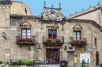 The Spanish Village, Poble Espanyol, Barcelona, Spain
